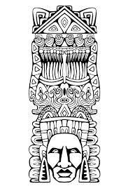 Imagen Relacionada Com Imagens Astecas Tatoo Pirografia