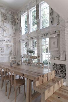 Hueso Restaurant, a Curiosity Cabinet of 10,000 Bones in Mexico | Yatzer