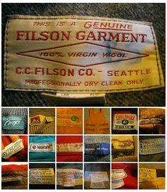 Vintage Tags, Vintage Labels, Vintage Wear, Vintage Outfits, Vintage Fashion, Vintage Clothing, Vintage Style, Shirt Label, Clothing Labels