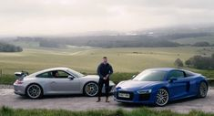 Can You Really Compare Audi's R8 RWS With Porsche's 911 GT3? #news #Audi