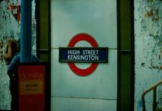 1976 - London - Tube Kensington High Street | by Affendaddy West London, Tube, Street, Castles, Trains, England, Memories, Spaces, Memoirs