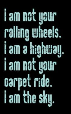 Audioslave - I Am the Highway - one of my all time faves. Love the voice...swoon, and the lyrics