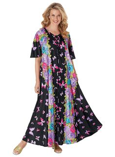 Floral Wide Sweep Zip Lounger >>> Want additional info? Click on the image.