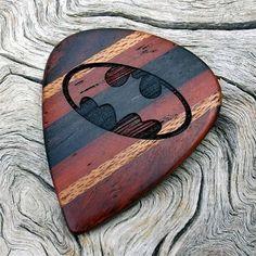 Handmade Wood Guitar Pick
