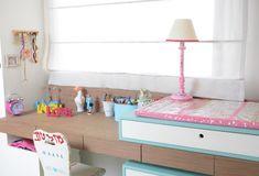 O quarto de LilyI e Diana foi planejado para o primeiro filho da jornalista RENATA CAPUCCI. Graças às irmãs, essa história tem final feliz.