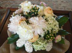 Peony, Hydrangea, Hypericum Berry, Hyacinth