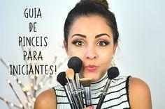 Tudo Sobre Pincéis de Maquiagem! – Guia para Iniciantes