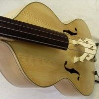 Bass of the Week: Toby Chennell Arco Acoustic Bass Guitar