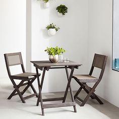 Portside Folding Bistro Table #westelm