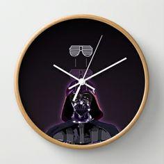 COOL DOWN - VADER Wall Clock by Morgan Ralston - $30.00