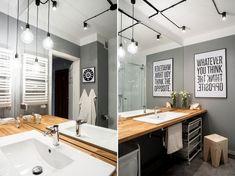 Home Decor Mirrors, Diy Bathroom Remodel, Layout, Modern, Bathtub, Design Inspiration, House Design, Interior Design, Table