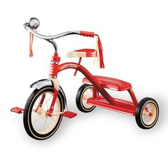 Classic Red Dual Deck Tricycle-product