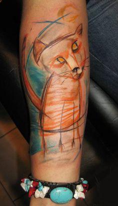 Abstract Animal Tattoo by Ondrash Tattoo   Tattoo No. 5712