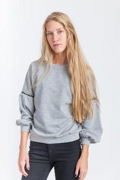 Andrea Sweatshirt Heather Grey