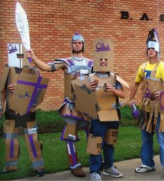 All shall fear the knights in cardboard armor! http://www.letu.edu/