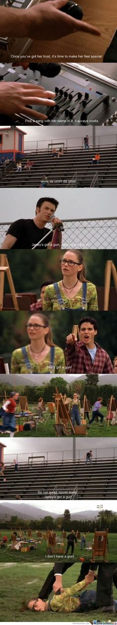 Not Another Teen Movie Makes me laugh every time!