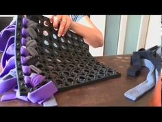 Instructie knopen snuffelmat ForSmartDogs - YouTube