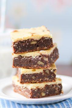 German Chocolate Cheesecake Brownies