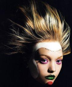 Gemma Ward by Mario Sorrenti / Vogue Italia July 2006