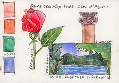 sketchbook from France ~ Jane LaFazio