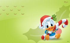 Cute Disney Baby Donald Duck Wallpaper