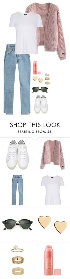 """Untitled #945"" by h1234l on Polyvore featuring Yves Saint Laurent, Chicwish, Vetements, Topshop, Ray-Ban, Lipsy and Miss Selfridge"