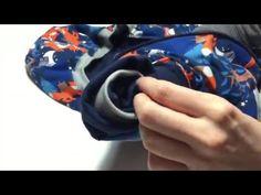 verdecktes Armbündchen für eine Wendejacke nähen - YouTube