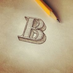 Awesome hand drawn lettering