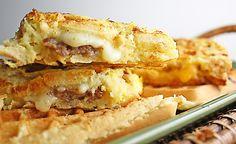 the stuffed french toast waffle panini