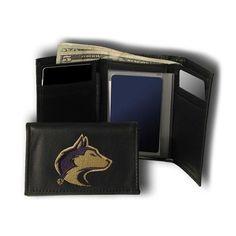 Washington Huskies NCAA Embroidered Trifold Wallet
