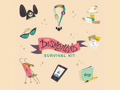 Disneyland Survival Kit by Rogie King