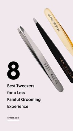 The best tweezers for plucking your eyebrows