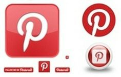 Free awesome Pinterest icon sets [Updated] www.BloggerSentral.com
