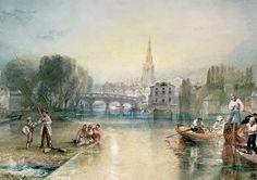 William Turner - Bedford(23. April 1775 in London - 19. Dezember 1851 in Chelsea) Romanticism
