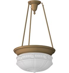 Clifton Classic Bowl-Shade Chandelier Light