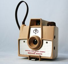 Brownie camera---Oh my gracious I had one of these!!!