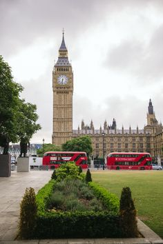 Houses of Parliament, London.-