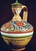 Csárdás korsó Mezőtúr (Szolnok m. Anno Domini, Hungarian Embroidery, Hungary, Budapest, Embroidery Patterns, 1, Pottery, Vase, Ceramics