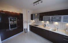 Mobila bucatarie moderna Double Vanity, Kitchen Cabinets, Bathroom, Home Decor, Washroom, Decoration Home, Room Decor, Cabinets, Full Bath