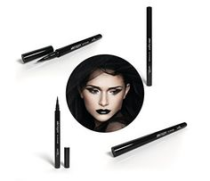 Eyeliner Pen with the Best Felt Tip Applicator - Top Quality Easy to Apply Long Lasting Waterproof Eye Makeup - Perfectly Black - 100% Satisfaction Guaranteed. by Lauren Taylor Cosmetics http://www.amazon.com/Eyeliner-Pen-Best-Felt-Applicator/dp/B00NLMS94I