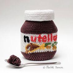 crochet nutella by Charlotte Vannier