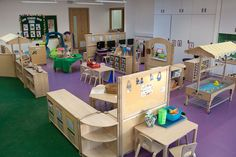 The Grown Up Work of Running a Day Care Preschool Classroom Layout, Eyfs Classroom, Preschool Rooms, Preschool At Home, Classroom Design, Classroom Supplies, Classroom Ideas, Communication Friendly Spaces, Baby Room Ideas Early Years