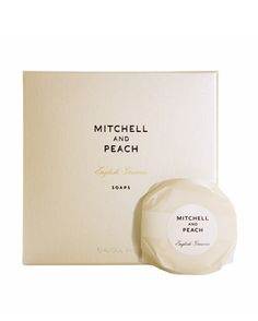 Soap(4  x 100g) These highly fragranced, hand-wrapped soaps are triple-milled for smoothness and produce a wonderfully creamy lather.