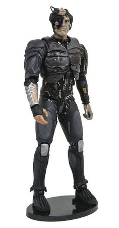 Star Trek Select Action Figure Borg (Star Trek: The Next Generation) 18 cm - Animegami Store Star Trek Images, Star Trek Collectibles, Star Trek Original Series, The Real Ghostbusters, Star Wars, Latest Movies, For Stars, The Selection, Dc Comics