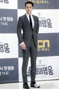 Lee Hyuk, Lee Soo, Formal Suits, Asian Celebrities, Hyun Bin, Kdrama Actors, Kpop, Mens Clothing Styles, Handsome Boys