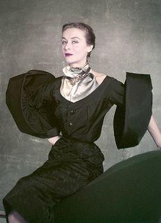 Gigi Terwalgne photo by Robert Randall 1951
