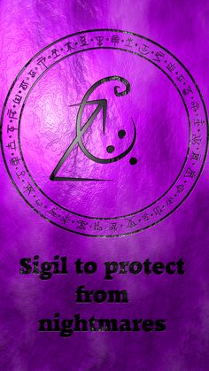 Sigil to protect from nightmares Wiccan Symbols, Magic Symbols, Spiritual Symbols, Viking Symbols, Egyptian Symbols, Viking Runes, Ancient Symbols, Wiccan Runes, Wiccan Spell Book