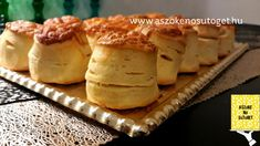 Szegény ember pogácsája | A szőke Nő sütöget Camembert Cheese, Hamburger, Bread, Food, Brot, Essen, Baking, Burgers, Meals