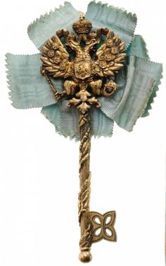 Chamberlain's Key of the Period of Tsar Alexander