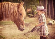 Rocky & Marina take two. You can really get a feeling how tiny she is. #horse #western #mustang horse #cowgirl